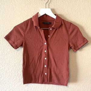 Abercrombie & Fitch Button Up Shirt, XS